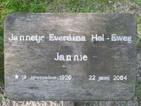 Image for Jannetje Everdina (Jannie)  Eweg