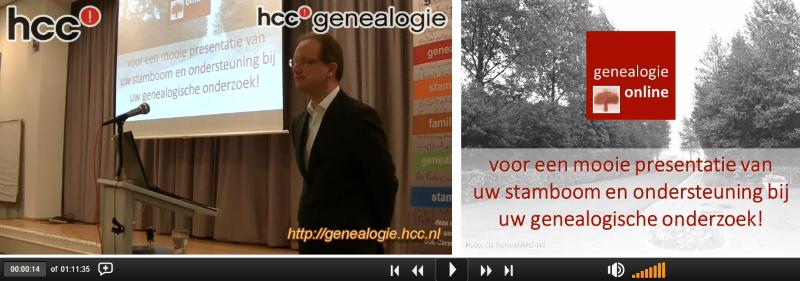Genealogie Online webinar - Bob Coret