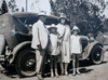 The Rood family with their car (Myra Dulcie