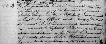Overlijden 01-06-1814 (Bartje Broekhuijsen)