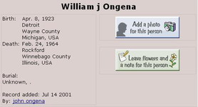William James Ongena
