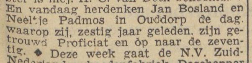 19490704 BOSLAND PADMOS JUBILEUM (Neeltje Padmos)
