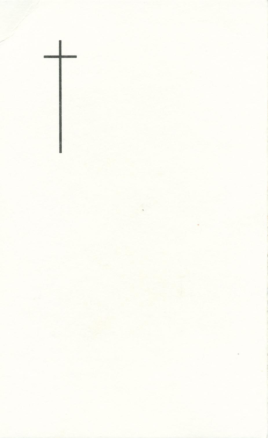Totenbildchen von Bidprentjesverzameling Stichting De Oude Schoenendoos - Met veel scans aus der Totenbildchensammlung von Stichting De Oude Schoenendoos