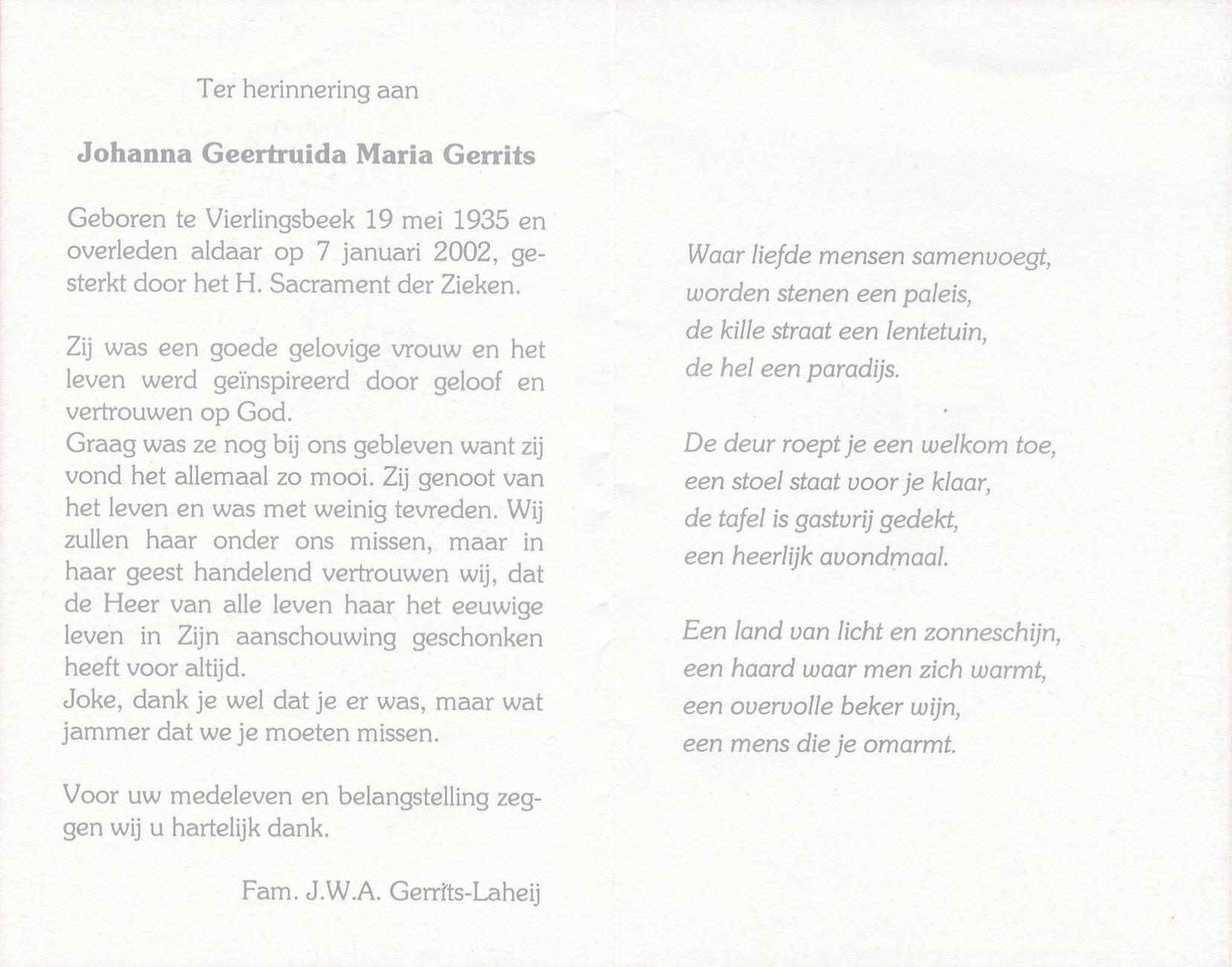 Mortuary cards for Bidprentjesverzameling Stichting De Oude Schoenendoos - Met veel scans from the mortuary cards collection of Stichting De Oude Schoenendoos