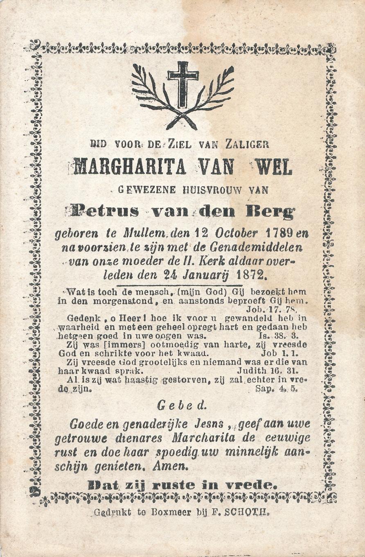 Bidprentje van Bidprentjesverzameling Stichting De Oude Schoenendoos - Met veel scans uit de bidprentjesverzameling van Stichting De Oude Schoenendoos