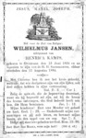 Wilhelmus Janssen