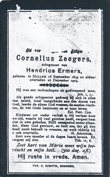 Cornelius Zegers