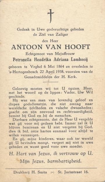 Antoon van Hooft