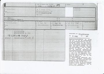 Persoonskaart - BSBiefke Hamhuis