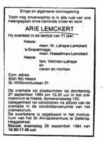 Arie Antonius Lemckert