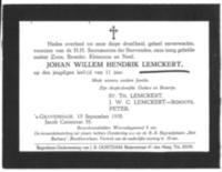 Johan Willem Hendrik Lemckert