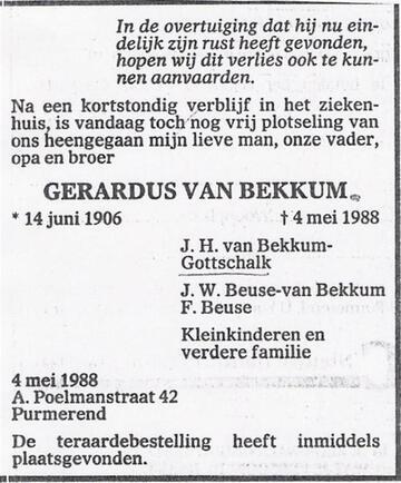 104433G (Gerardus van Bekkum)