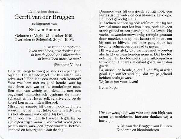 Totenbildchen von Bidprentjesverzameling W.G.M. van de Ven - met ruim 8 duizend scans aus der Totenbildchensammlung von W.G.M. van de Ven
