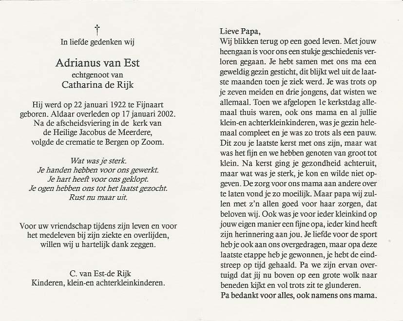 Bidprentje van Bidprentjes Van den Berg - met ruim 53 duizend scans uit de bidprentjesverzameling van J.P.P. van den Berg