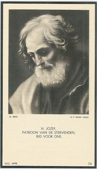 Bidprentje van Bidprentjes Van den Berg - met ruim 56 duizend scans uit de bidprentjesverzameling van J.P.P. van den Berg