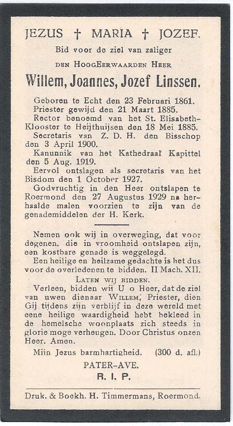 La carte in memoriam de Bidprentjes Van den Berg - met ruim 52 duizend scans dans la collection de ces cartes de J.P.P. van den Berg