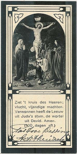 Mortuary cards for Bidprentjes Van den Berg - met 59.432 scans from the mortuary cards collection of J.P.P. van den Berg