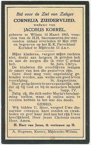 Bidprentje van Bidprentjes Van den Berg - met ruim 52 duizend scans uit de bidprentjesverzameling van J.P.P. van den Berg