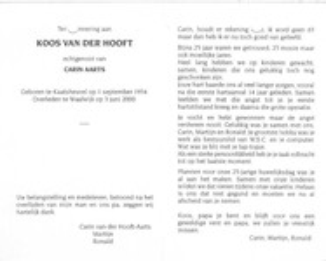 Koos van der Hooft