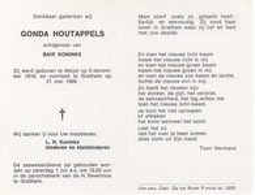 Gonda Houtappels