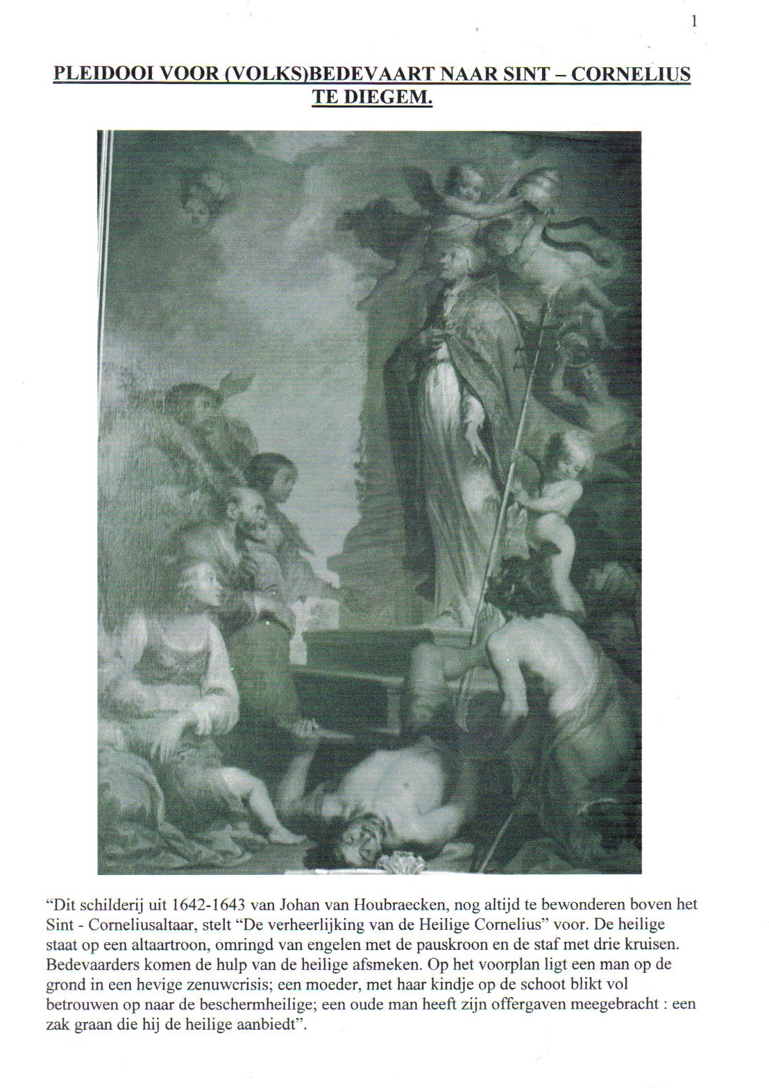 Verheerlijking van Sint-Cornelis
